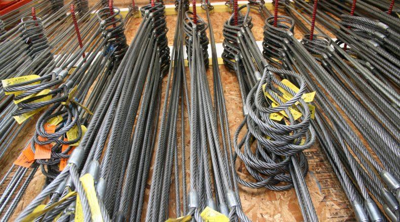 élingues câble métallique