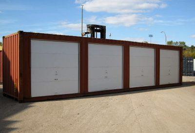 Conteneurs - modifiés (portes de garage latérales)