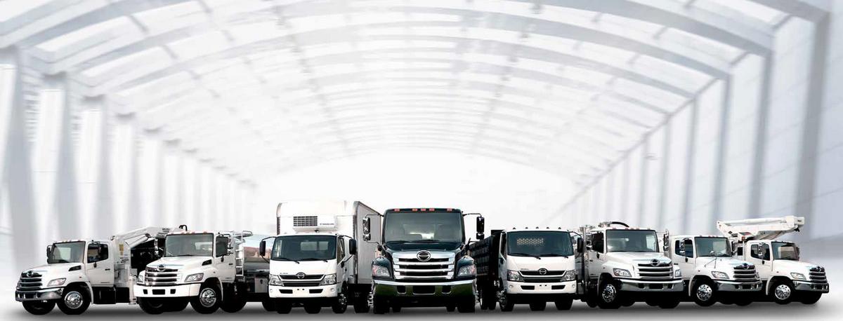Hino - Gamme de camions