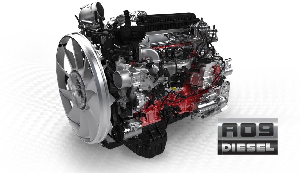 Hino - moteur A09
