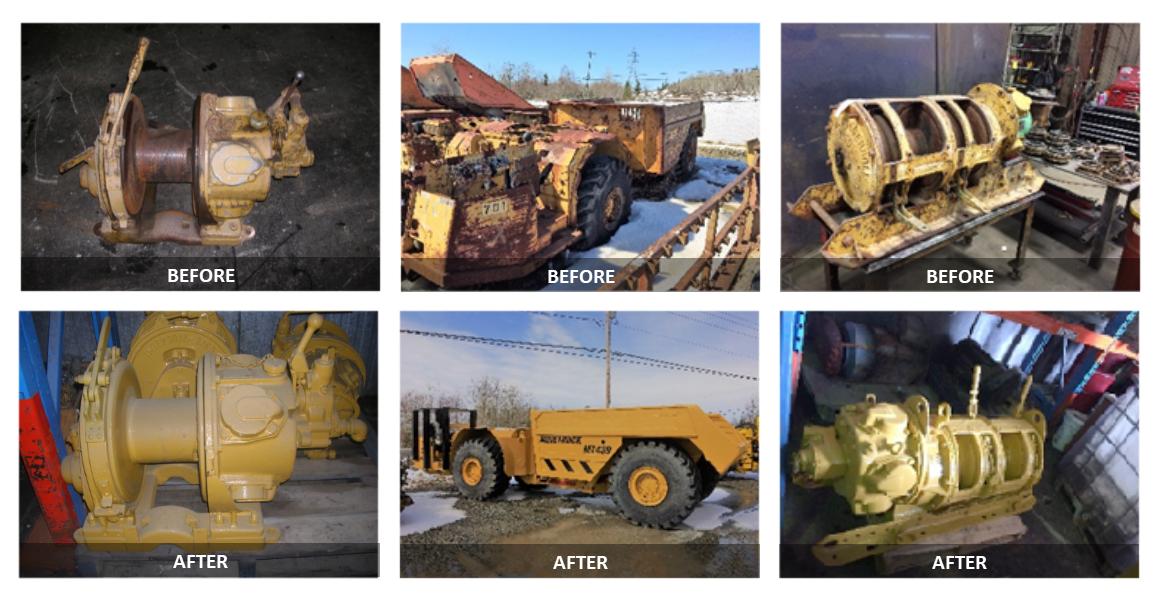 Réhabilitation à neuf d'équipements - avant et après (ANGLAIS)