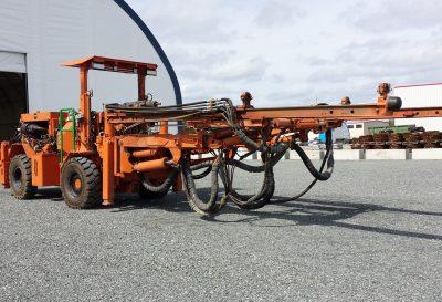 Réhabilitation à neuf d'équipements miniers souterrains lourds