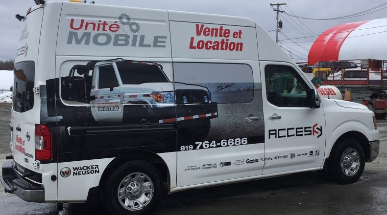 Unité mobile