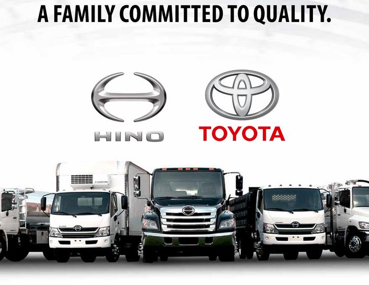 Hino and Toyota - family