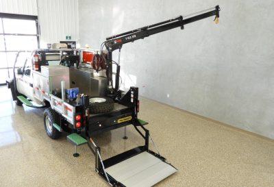 Landcruiser - plateforme mécanique (tout équipé)