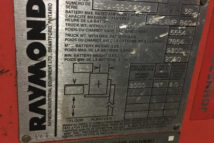 RAYMOND EASIR30