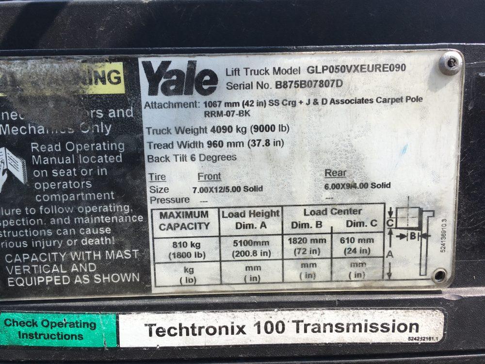YALE GLP050VX