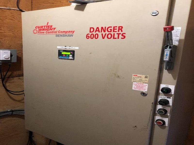 Ventilateur 250hp et bruleur-5