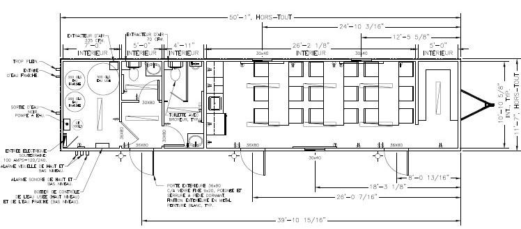 Plan modulaire