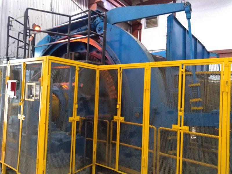 Mining hoist